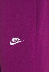Nike Sportswear - CLUB - Tracksuit bottoms - viotech/viotech/white - 2