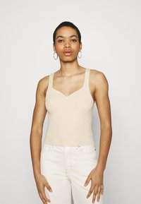 Abercrombie & Fitch - Top - soft yellow - 0