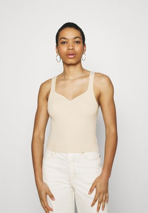 Top - soft yellow