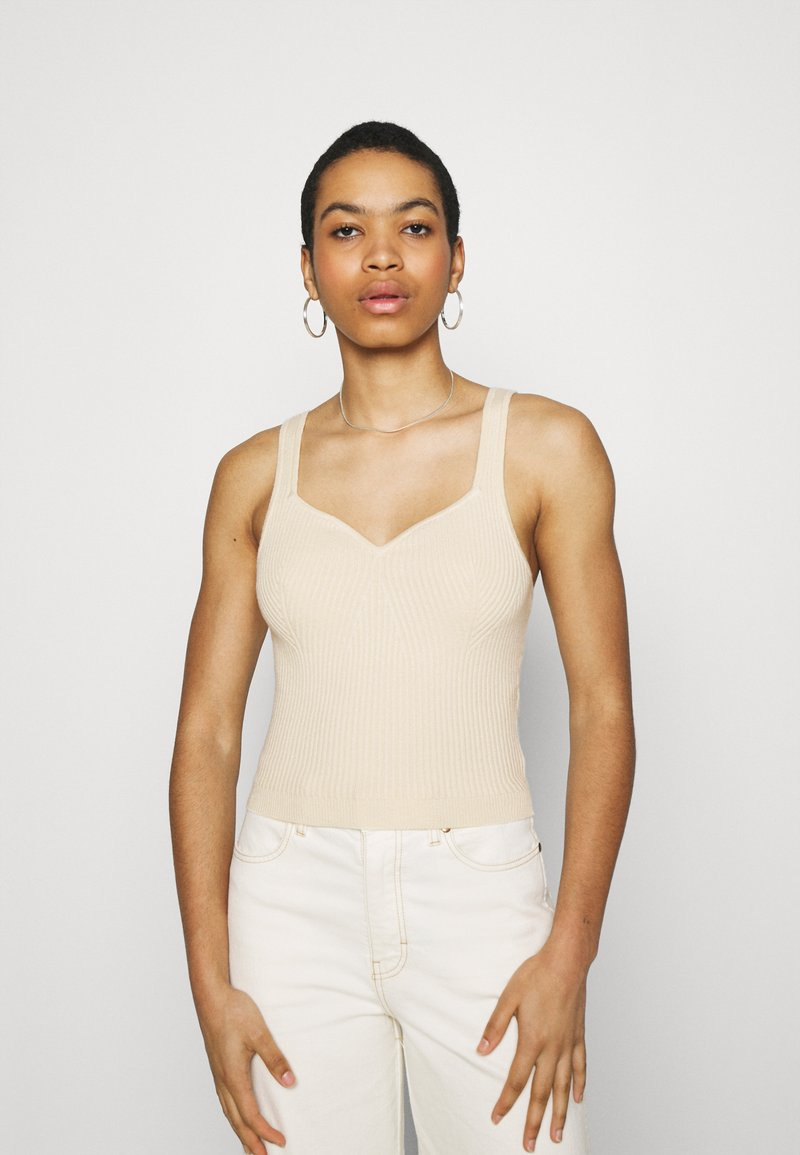 Abercrombie & Fitch - Top - soft yellow