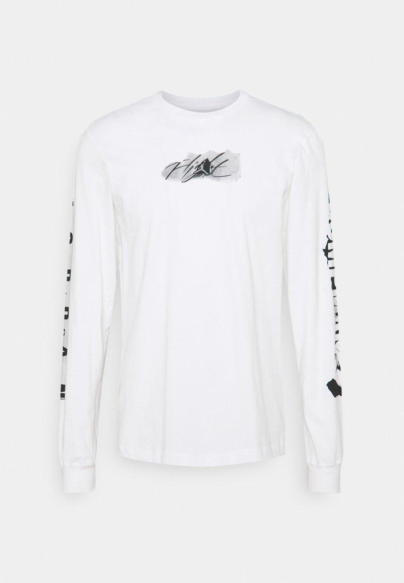 Jordan - BRAND CREW - Maglietta a manica lunga - white/black