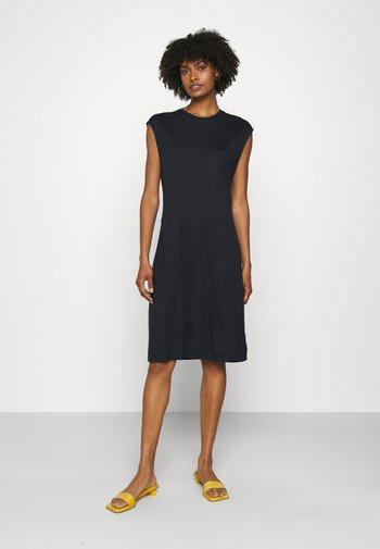 AURORA DRESS - Jersey dress - navy