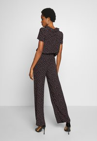 Pieces - PCNIMMA WIDE PANT - Trousers - black - 3