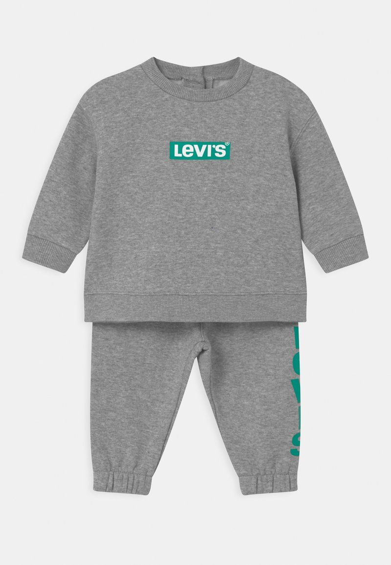 Levi's® - CREW SET - Tracksuit - grey heather