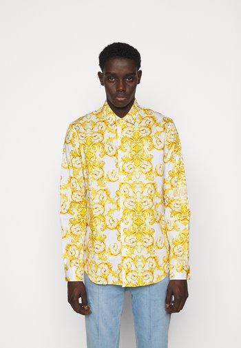 LOGO BAROQUE  - Camicia - white