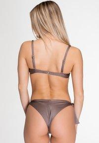 Zoe Leggings - ISABELLA - Bikini bottoms - bronze - 2