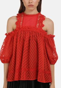 myMo ROCKS - BLUSE - Blouse - red - 3