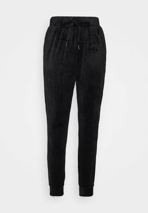 TROUSERS JULIE - Tracksuit bottoms - black