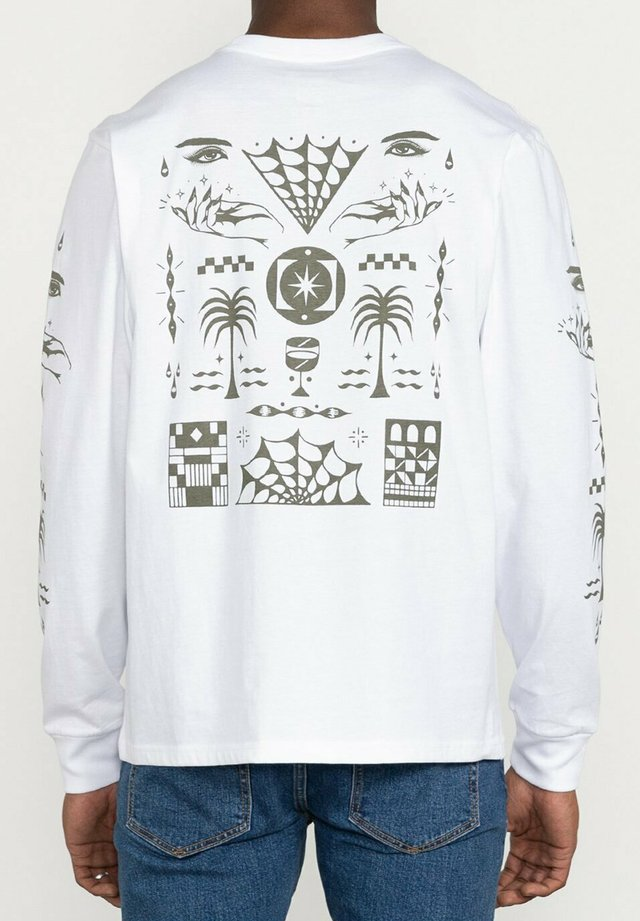 JESSE BROWN VISION FLASH - Longsleeve - white