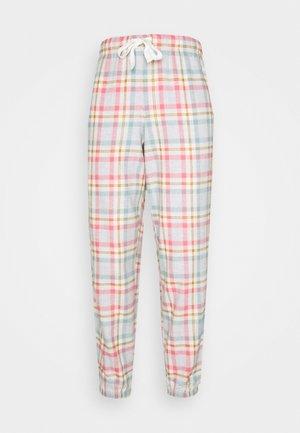 DEAL CHECK CUFF - Pantalón de pijama - pink mix