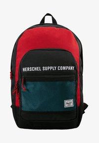 Herschel - KAINE - Batoh - black/red - 6