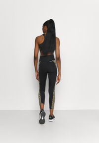 adidas Performance - BELIEVE THIS 2.0 LACE AEROREADY WORKOUT COMPRESSION 7/8 LEGGINGS - Collants - black/hazbei