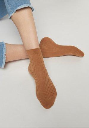 Socks - cammello