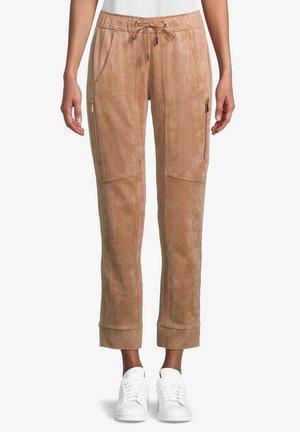 MIT TUNNELZUG - Trousers - beige