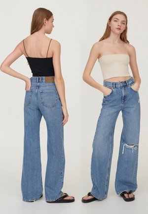 2 PACK STRAPPY CROP - Top - off white