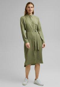 Esprit - Shirt dress - light khaki - 1