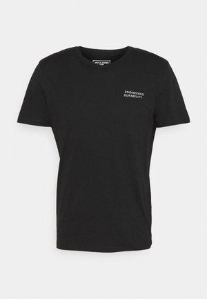 JCORACK - Camiseta estampada - black