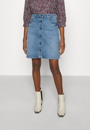 JDYTYSON LIFE  - Denim skirt - light blue