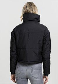 Urban Classics - LADIES OVERSIZED HIGH NECK JACKET - Light jacket - black - 1