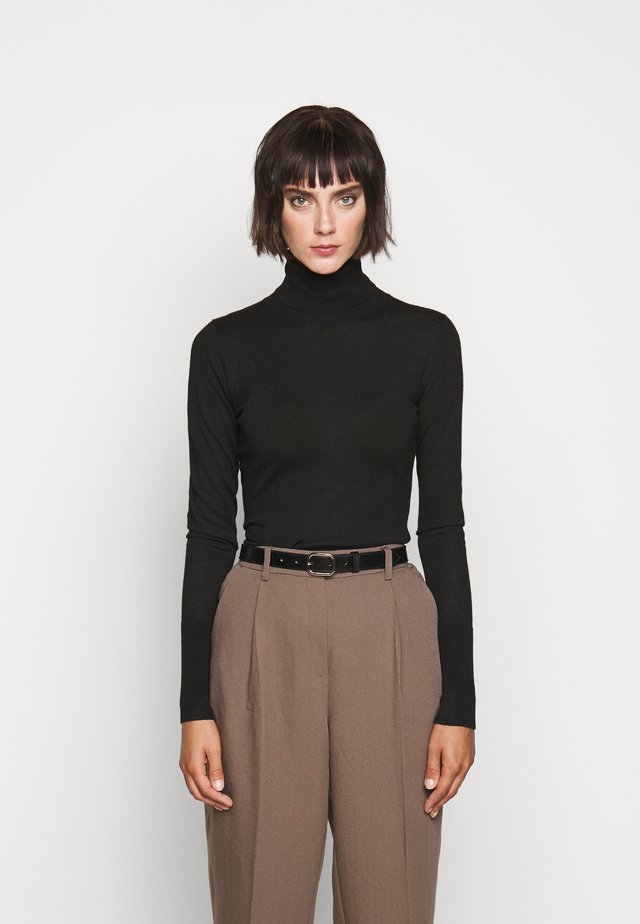 FAVORITE TURTLENECK SPECIAL - Neule - black