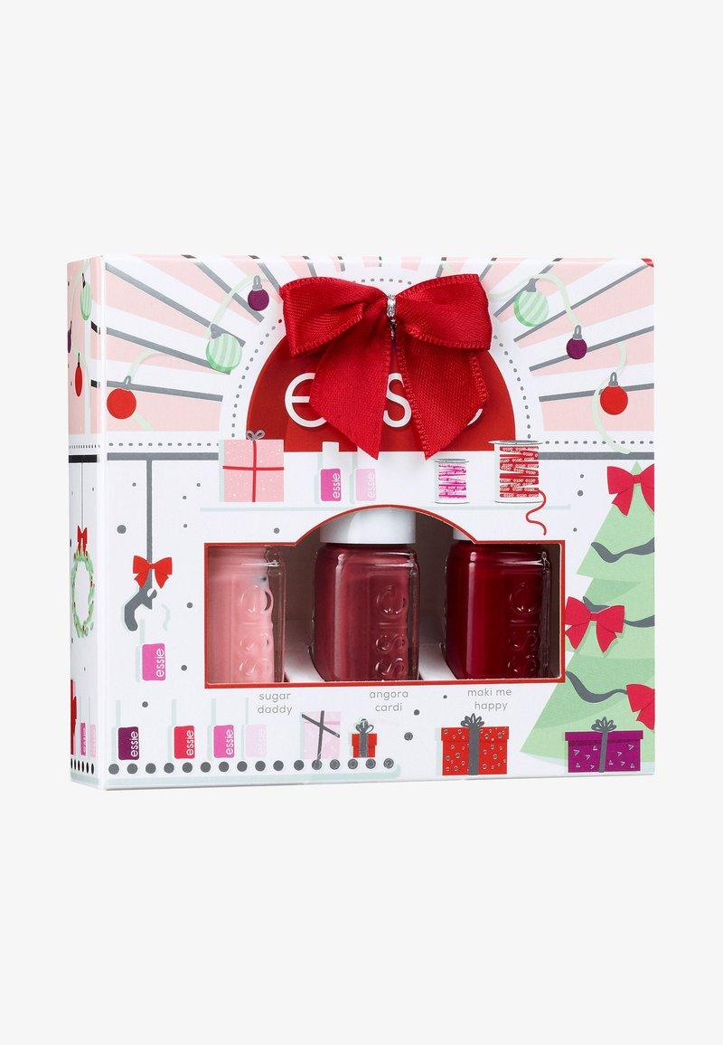 Essie - XMAS MINI TRIO KIT - Nail set - multi-coloured