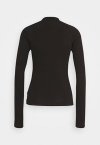 Converse - MOCK NECK LONG SLEEVE  - Long sleeved top - black - 1