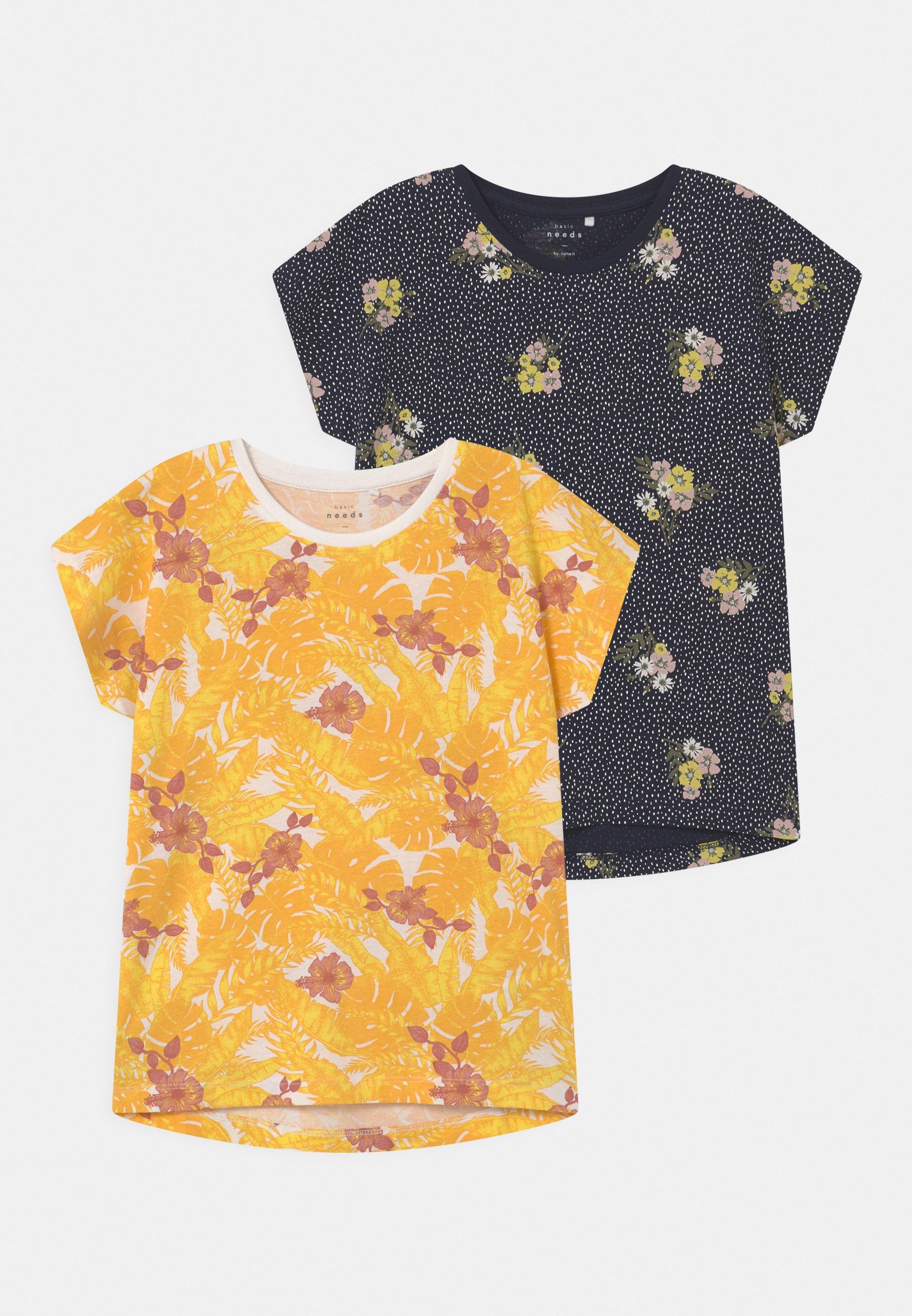 Kids NKFVIGGA 2 PACK - Print T-shirt