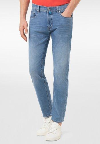 LYON  - Slim fit jeans - mid blue