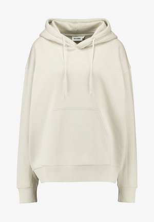 ALISA HOODIE - Luvtröja - beige dusty light