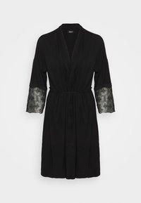 Etam - LIDDY DESHABILLE - Dressing gown - noir - 5