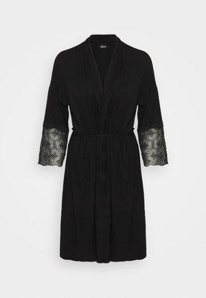 LIDDY DESHABILLE - Dressing gown - noir