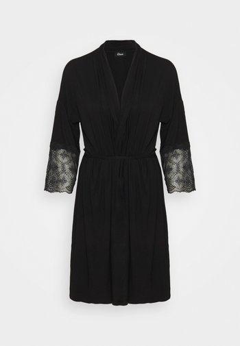 LIDDY DESHABILLE - Peignoir - noir