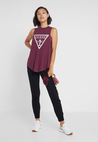 Guess - TANK - Top - purple - 1