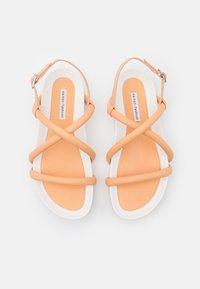 Oa non fashion - Platform sandals - latte - 5