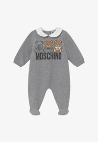 MOSCHINO - BABYGROW GIFT BOX - Pyjamas - grey melange - 2