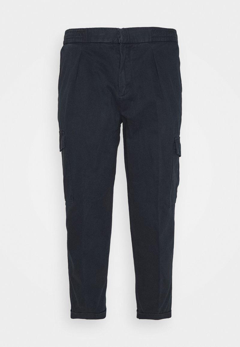 URBN SAINT - USJASPER CARGO PANTS - Cargo trousers - navy