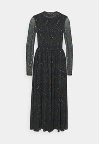 TOM TAILOR DENIM - PRINTED DRESS - Day dress - black - 0