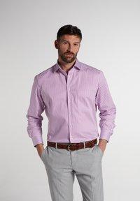 Eterna - COMFORT FIT - Shirt - pink/weiss - 0