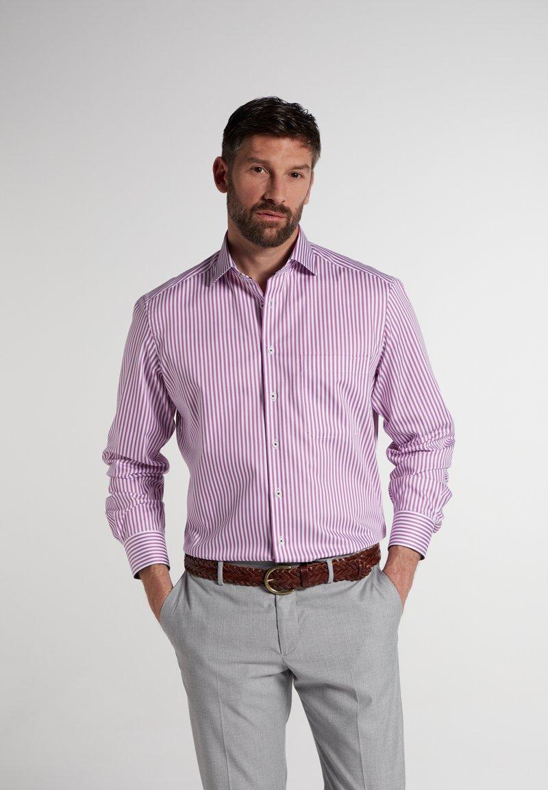 Eterna - COMFORT FIT - Shirt - pink/weiss