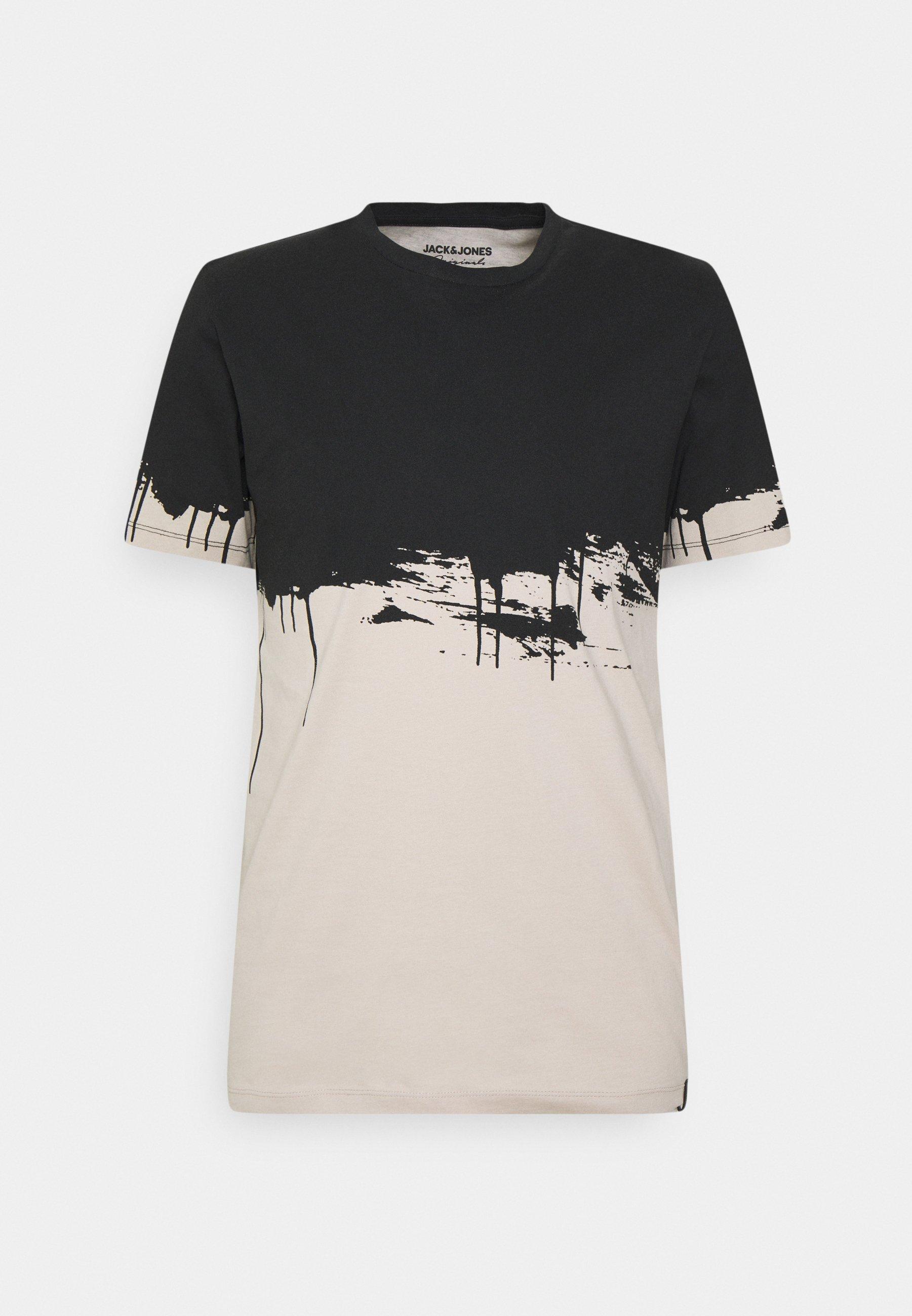 Men JORBRUCK TEE CREW NECK - Print T-shirt
