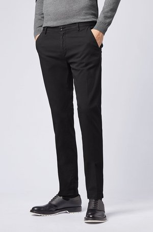 RICE - Chinos - black