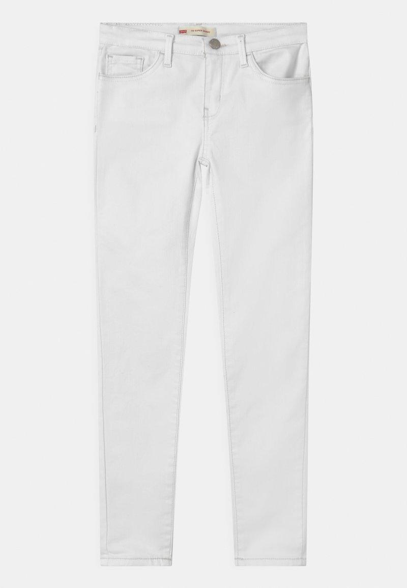 Levi's® - 710 SUPER SKINNY  - Vaqueros pitillo - white