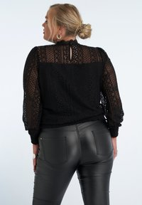 MS Mode - Blouse - black - 2