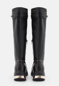 Liu Jo Jeans - KARLIE  - Laarzen met sleehak - black - 3