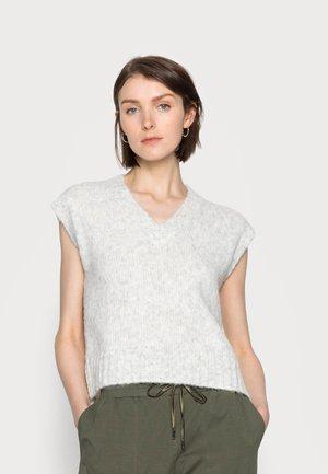 ALIOMA KNIT VEST - Sweter - light grey