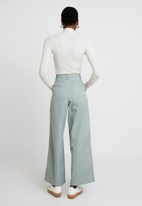GAP - HI-RISE PLEATED  - Broek - sage - 2
