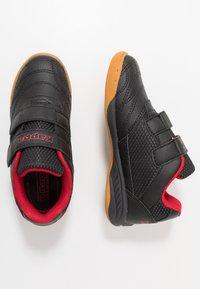 Kappa - KICKOFF - Sportschoenen - black/red - 0