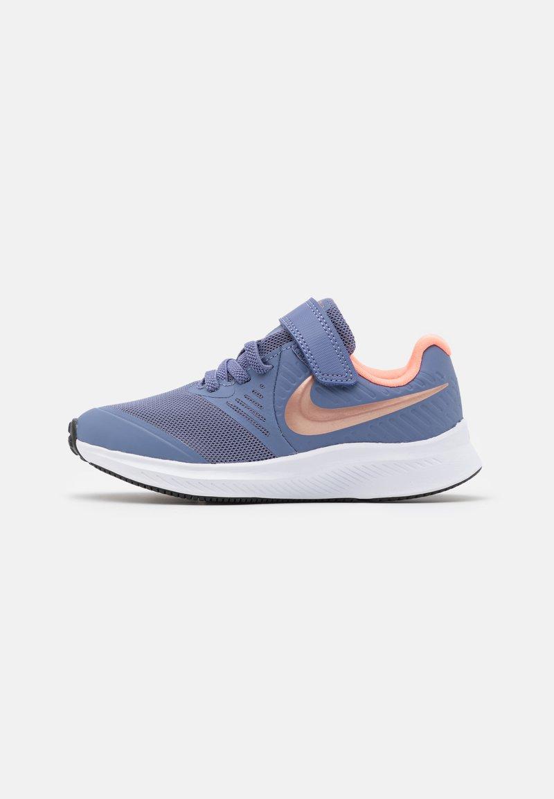 Nike Performance - STAR RUNNER 2 UNISEX - Neutral running shoes - world indigo/metallic red bronze/atomic pink
