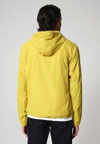 Napapijri - A-CIRCULAR - Outdoor jacket - yellow moss - 2