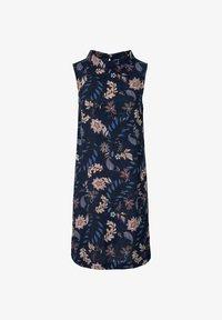 TOM TAILOR - Day dress - navy floral design - 4